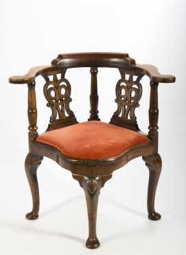 18thC English Corner Chair