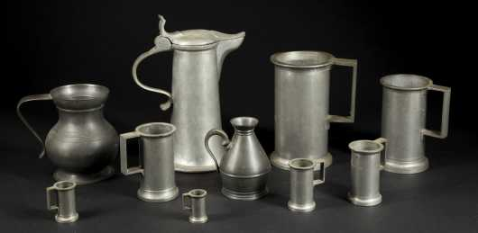 Old Pewter Lot