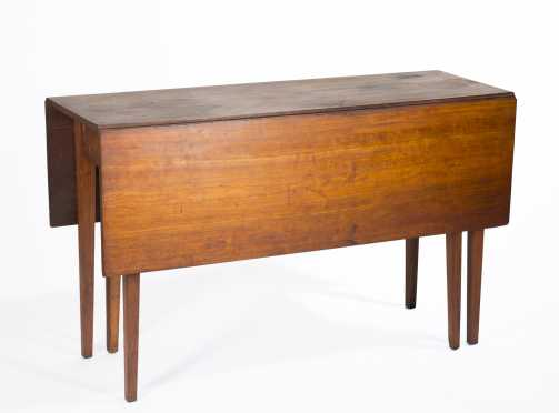 Cherry Hepplewhite Dropleaf Table