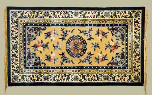 Modern Chinese Scatter Rug