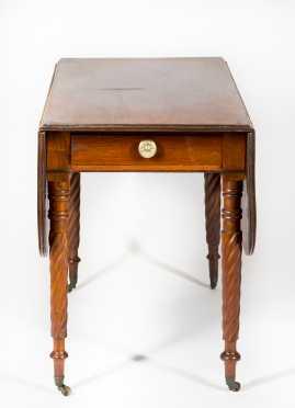 Mahogany Shearaton Pembroke Table