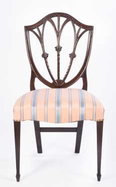 Hepplewhite Style Side Chair