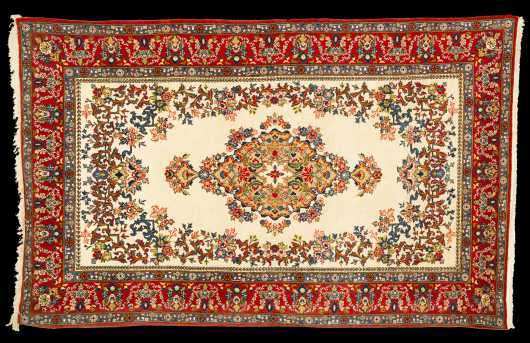 Modern Persian Scatter Rug