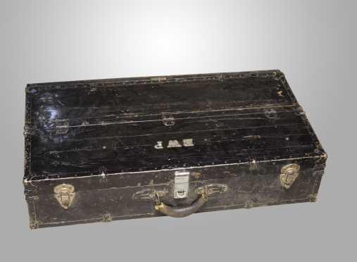 Metal and Wood Tool Box