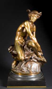 "Bronze Casting of ""Mercury"""
