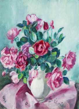 Martha Walter, (1875-1976), MA, PA, France, oil on canvas