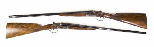 "Important matched pair of Spanish shotguns, made by ""Arrieta and Cia Elgoibar�"