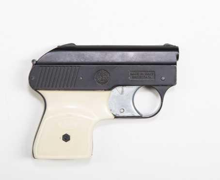 "Mondial Brevettata .22 auto pistol, model 1900, works with .22 cal crimped blank ""flobert"" bullets"