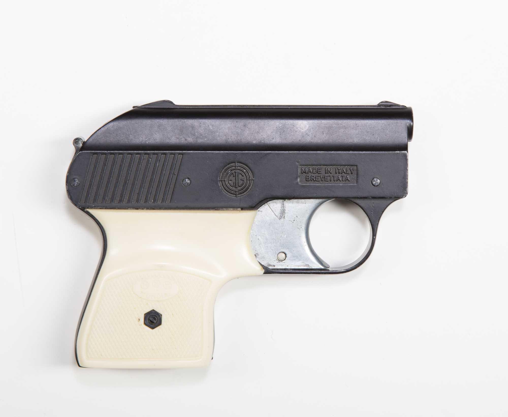"Auction Auto Usa >> Mondial Brevettata .22 auto pistol, model 1900, works with .22 cal crimped blank ""flobert"" bullets"