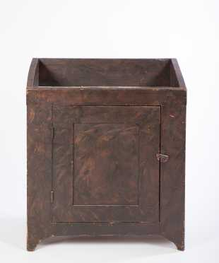 Brown Painted Decoration Dry Sink
