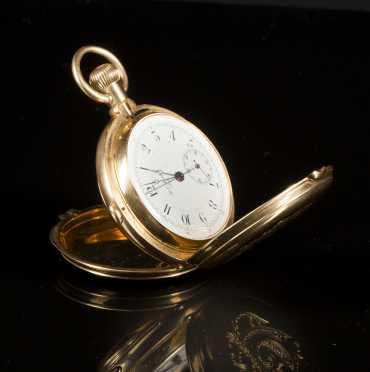 H.L. Matile, Locile, 18K Gold Pocket Watch, no. 10930