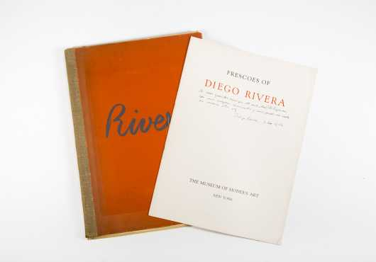 Frescoes of Diego Rivera, 1933, A Portfolio of 19 Color Plates from Booklet created for the Museaum of Modern Art