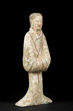 Single Han Dynasty Tomb Figure