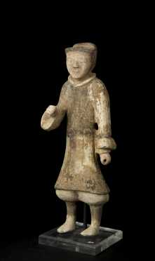 Han Dynasty Chinese Soldier Figure