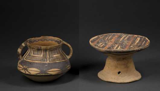 Two Chinese Neolithic Ceramics