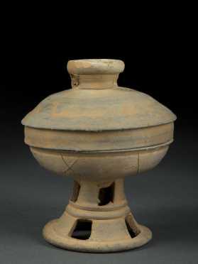 Korean Silla Dynasty Covered Bowl