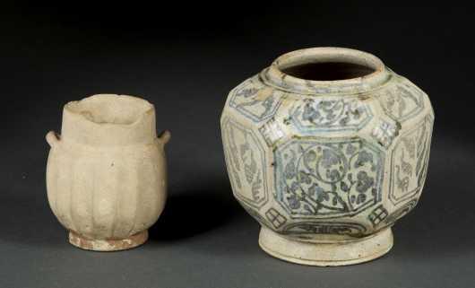 Thai Swankolok Pot and Terracotta Vessel