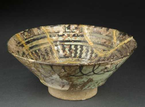 Roman/Sassanian Glazed Bowl