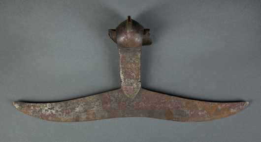 Early Wrought Iron Axe Head