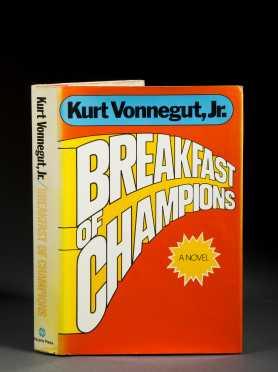 Vonnegut, Kurt (1922-2007), 'Breakfast of Champions', 1973 Signed First Edition.