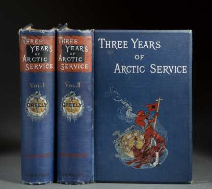 "(Arctic Exploration) Greely, Adolphus. ""Three Years of Arctic Service:"