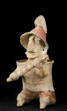 Pre Columbian Jalisco Warrior Figure