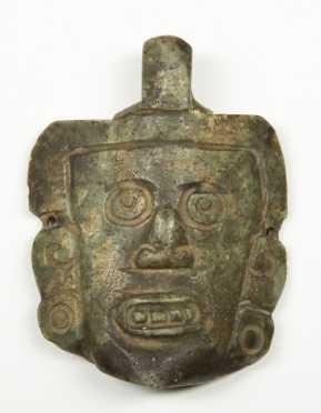 Jadeite Stone Head