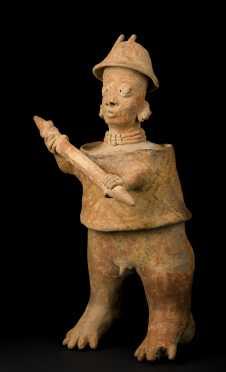 Jalisco Warrior Standing Figure