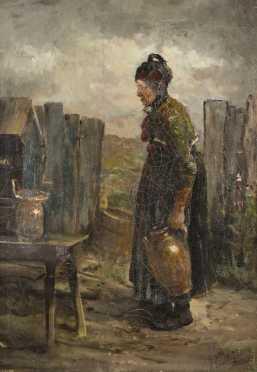 William Preston Phelps, oil on canvas