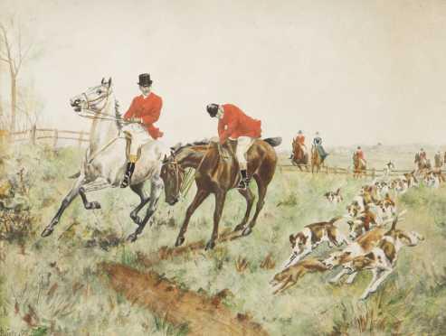 Thomas Blinks, 1860-1912, England, watercolor