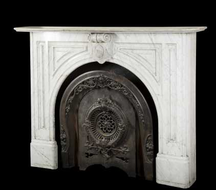 19thC. Marble Mantle-Keene,NH