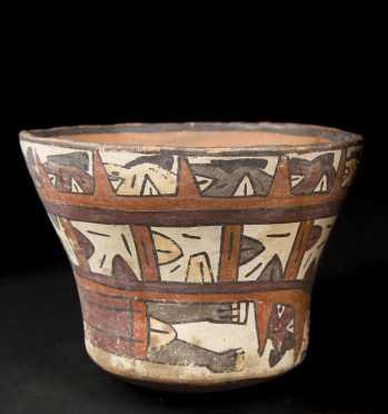 Nazca Peru Decorated Vessel