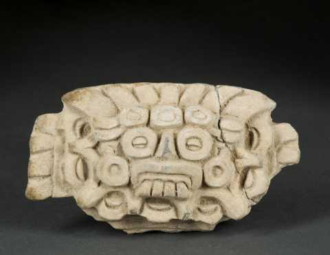 A Zapotec Face Fragment