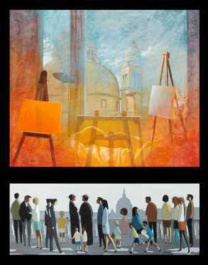 Two Modern Italian Artists