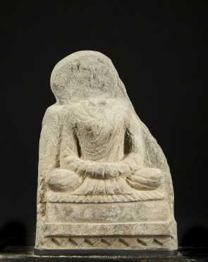 Gandhara Stone Buddha