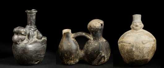 Three Peruvian Vessels