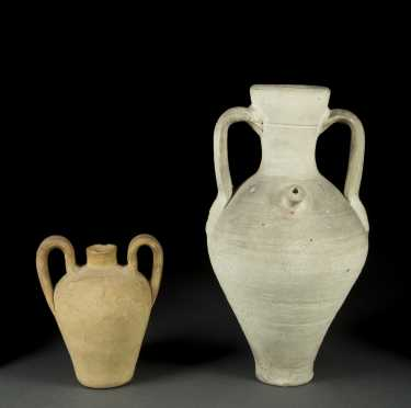 Two Roman Era Handled Vessels
