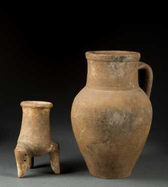 Two Roman Era Large Mouth Jars