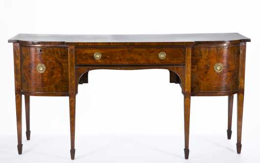 English Hepplewhite Sideboard