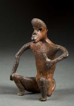 Old Seated Monkey/Baboon