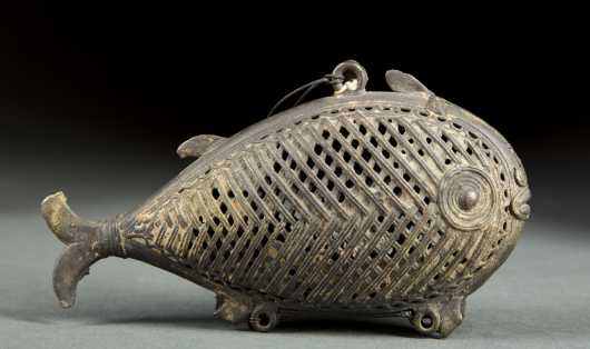 Bengal (India) Fish Incense Burner