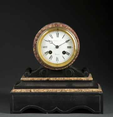 Stowell & Co., Boston Marble Mantle Clock