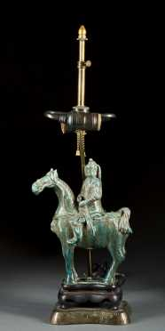 Han Style Horse/Ride Lamp