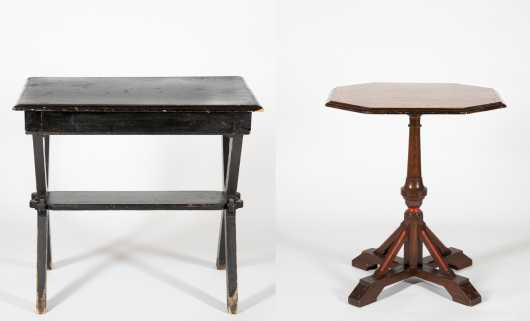 Two Eastlake Tables