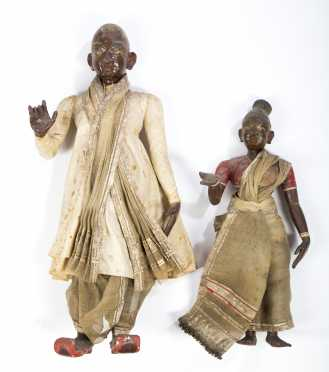 Two Dolls from India