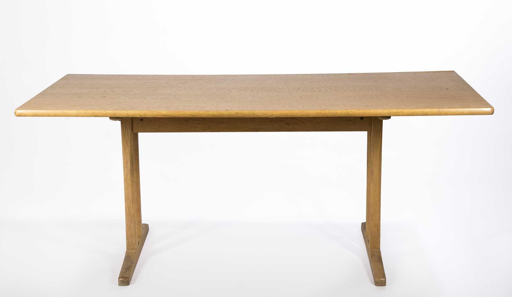 Danish Modern Trestle Table