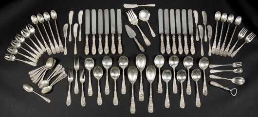 """Stieff"" Sterling Silver Table Service"
