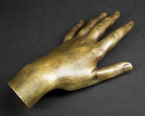 Pauline Princess Borgliese Bronze Hand