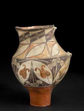Native American Acoma Pottery Pitcher