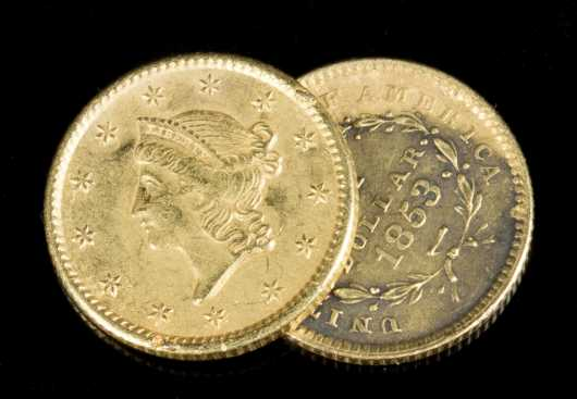 Two Gold US Coins